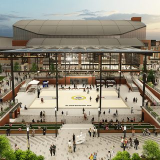 Bankers Life Fieldhouse Expansion
