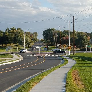 Five Points Road & Edgewood Avenue Roundabout
