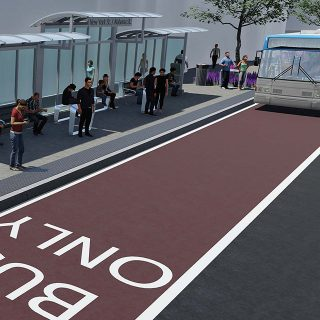 IndyGo Super-Stops & Downtown Transit Center Improvements