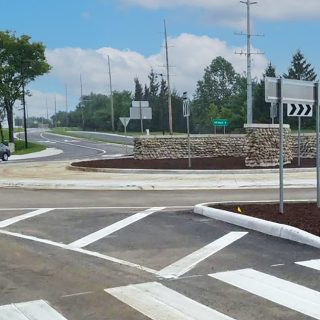 Smith Valley Road & Yorktown Road Roundabout