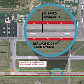 LCK Runway 5R-23L Rehabilitation and MOS Improvements Phase 2B
