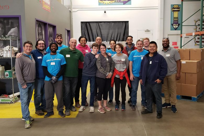 On December 20th, Shrews Denver participated in the monthly low-income senior program in which, they helped seniors put together food boxes to take home. The seniors received vegetables, milk, and other needed groceries, and then Shrews staffers took the boxes to their cars for them.