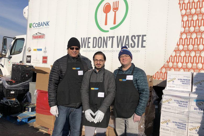 Shrewsberry staff members regularly donate time to the We Don't Waste organization near our Denver office. The organization supports the community and the environment by reclaiming and redistributing quality food to those in need.
